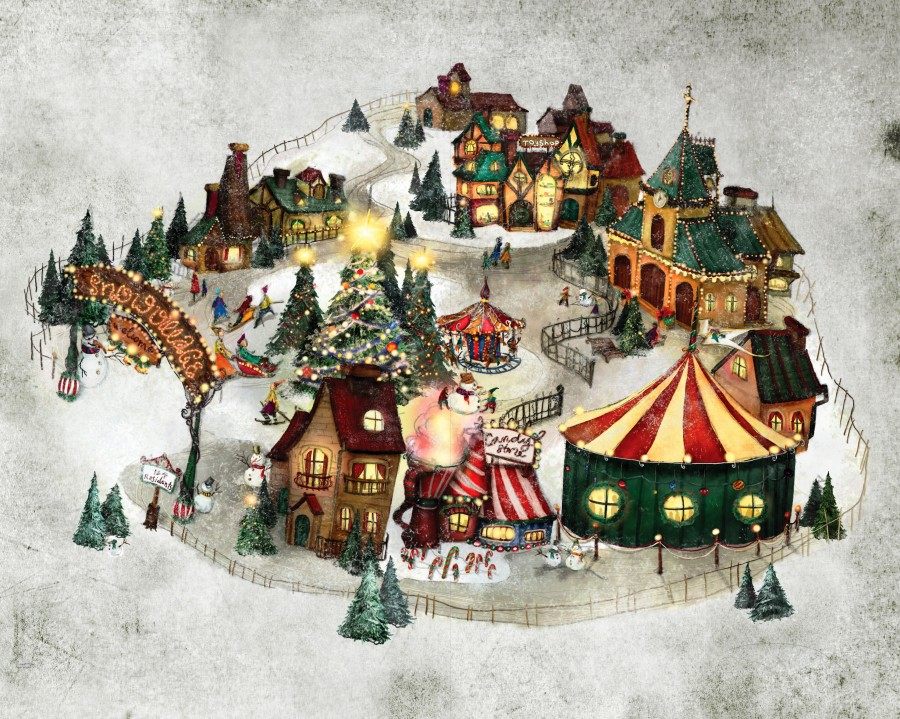 The Snow Village