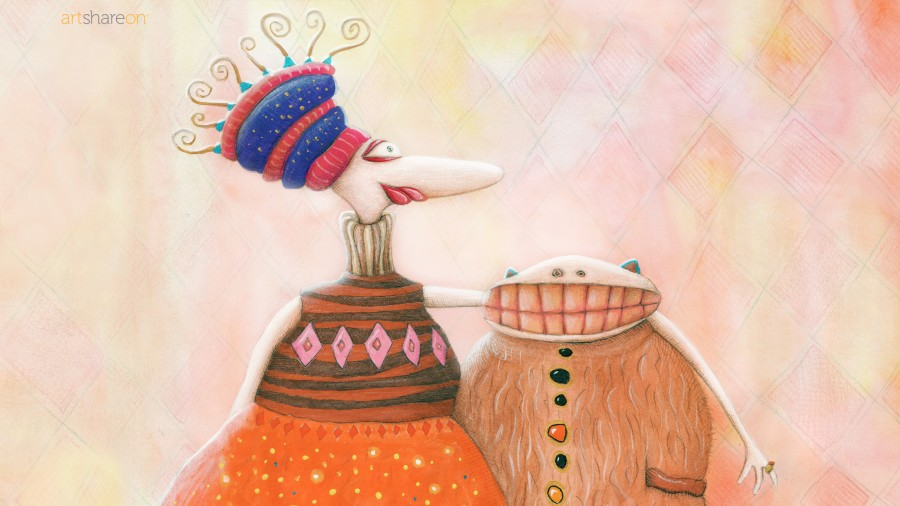 Larisa and Nikolay (Wallpaper)