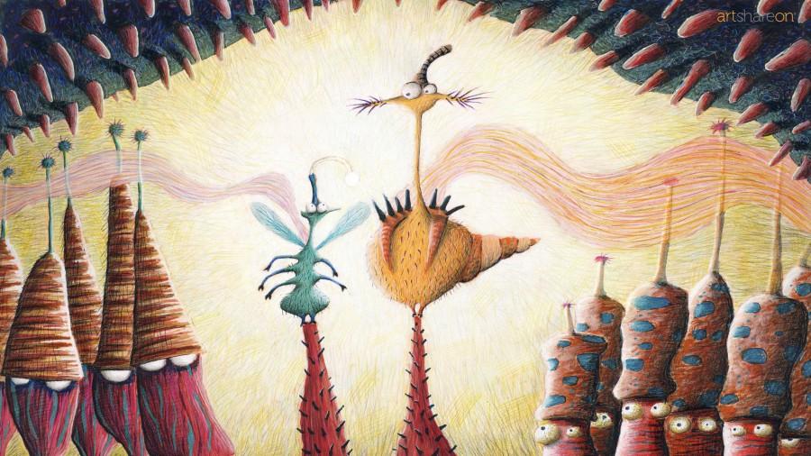 The Mushrooms (wallpaper)