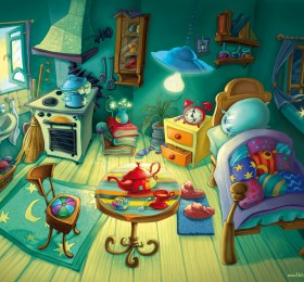 The room of Starla